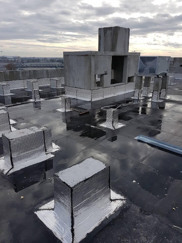 étanchéité sur toit terrasse par EIB Bordeaux